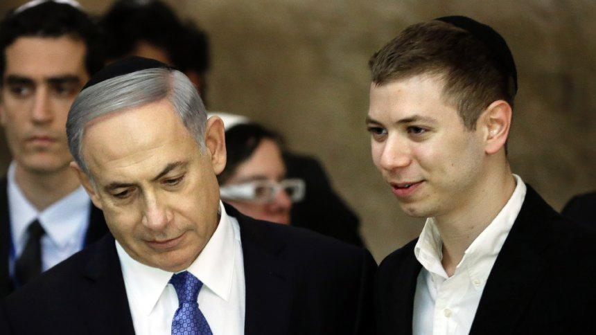 Netanyahu's son suspended from Facebook after suggesting all Muslims should leave Israel