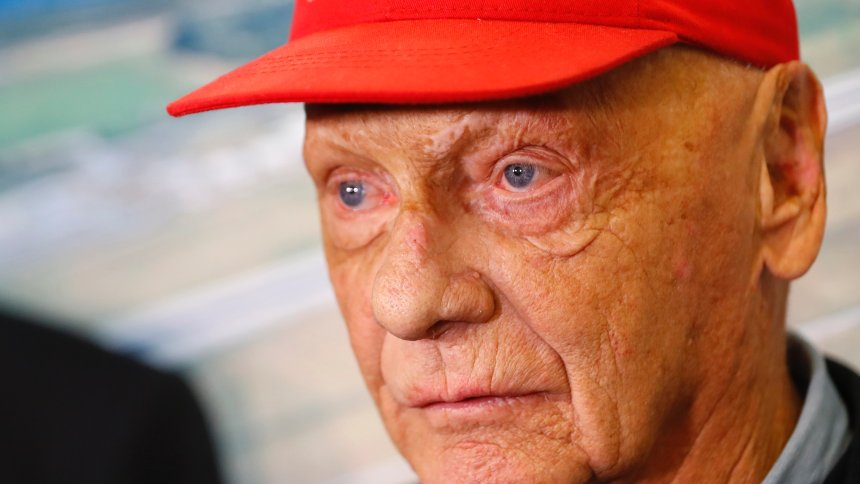 Formula One legend Niki Lauda returns to hospital with flu