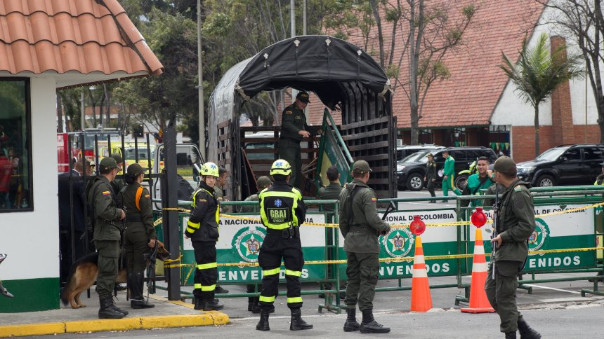 Brazil condemns car bomb attack in Bogota