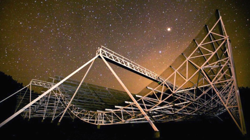 Astronomers detect radio signals from deep space